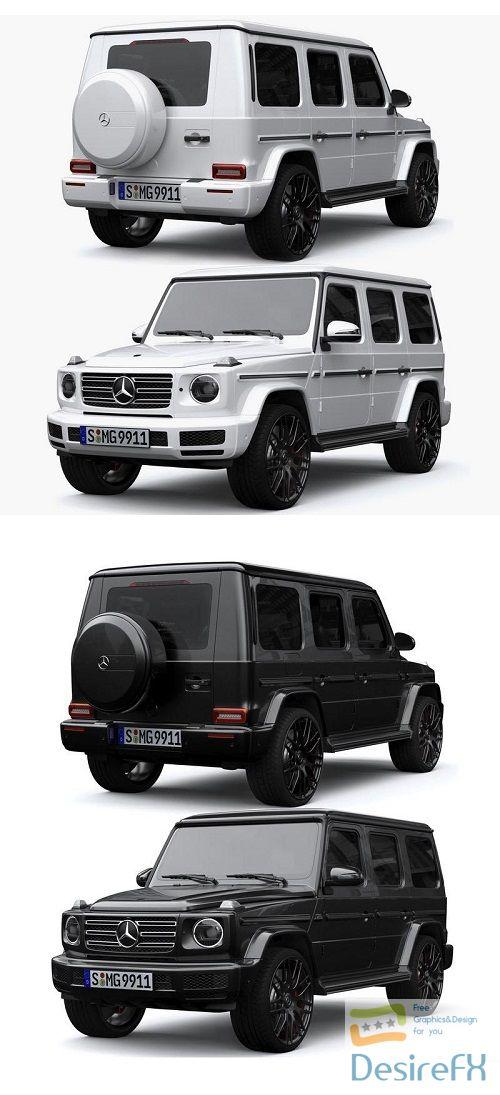 Mercedes-Benz G-Class G63 3D Model