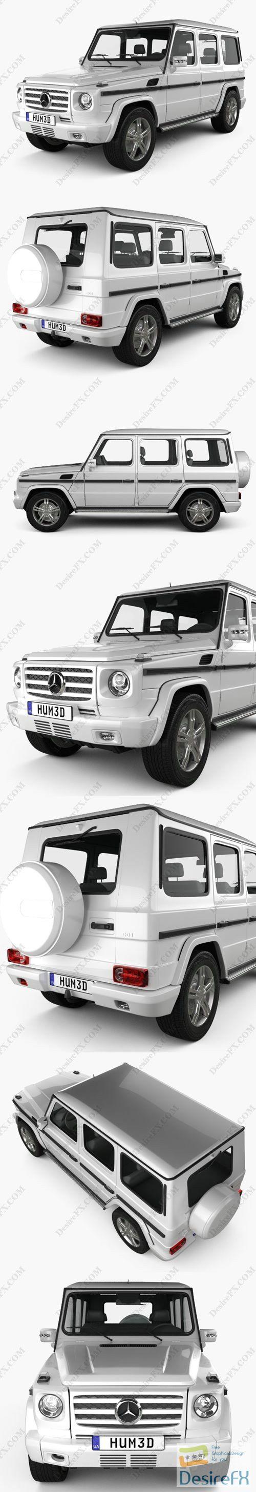 Mercedes-Benz G-class 2011 3D Model