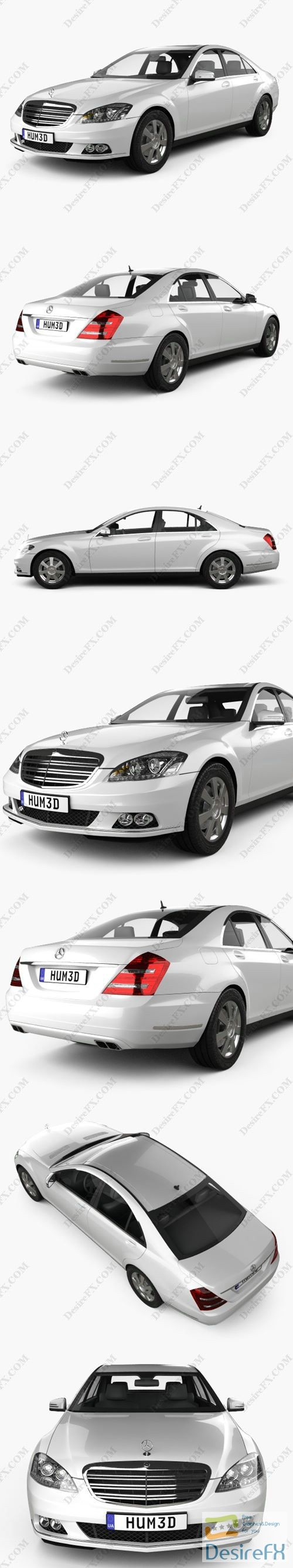 Mercedes-Benz S-Class 2010 3D Model