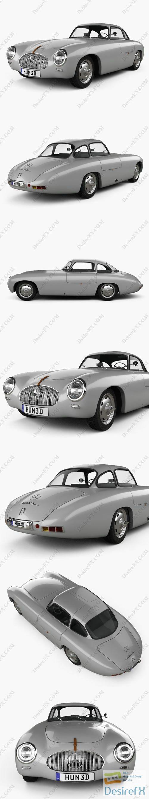 Mercedes-Benz SL-Class 1952 3D Model