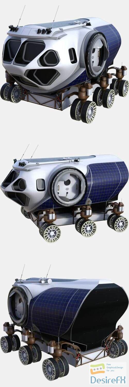 NASA Space Exploration Vehicle Concept 3D Model