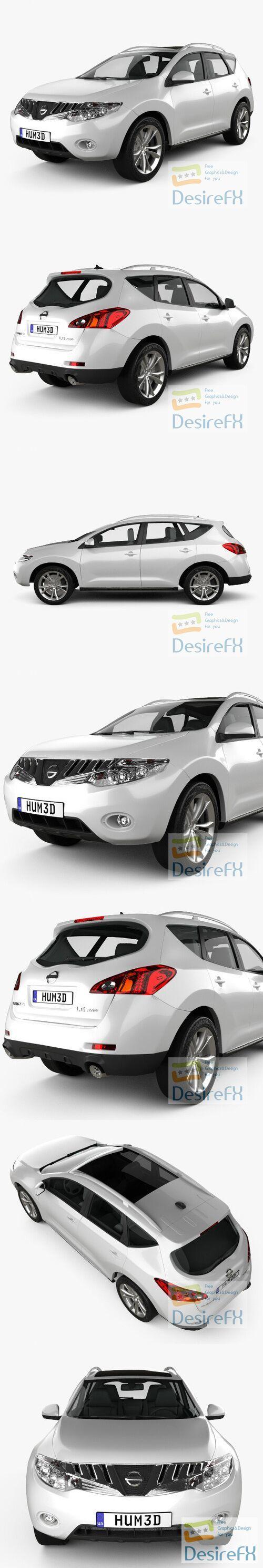 Nissan Murano 2009 3D Model
