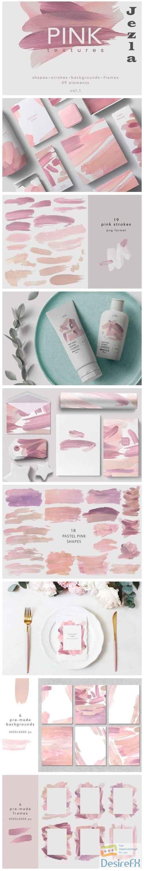 PINK textures-vol.1 - 4536199