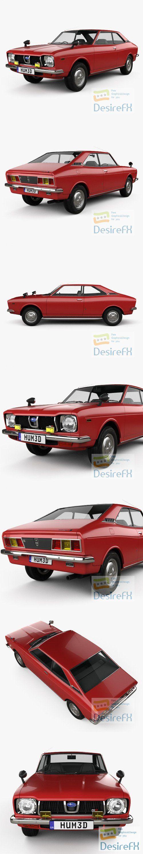 Subaru Leone GSR 1972 3D Model