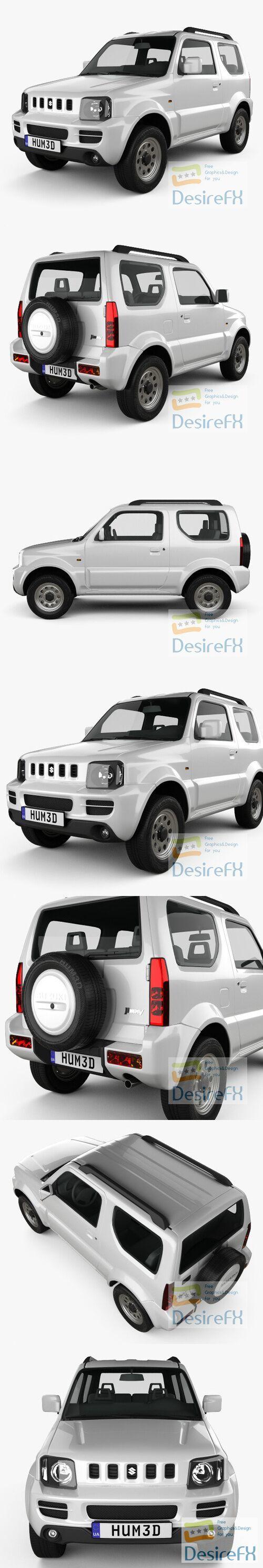 Suzuki Jimny 2012 3D Model