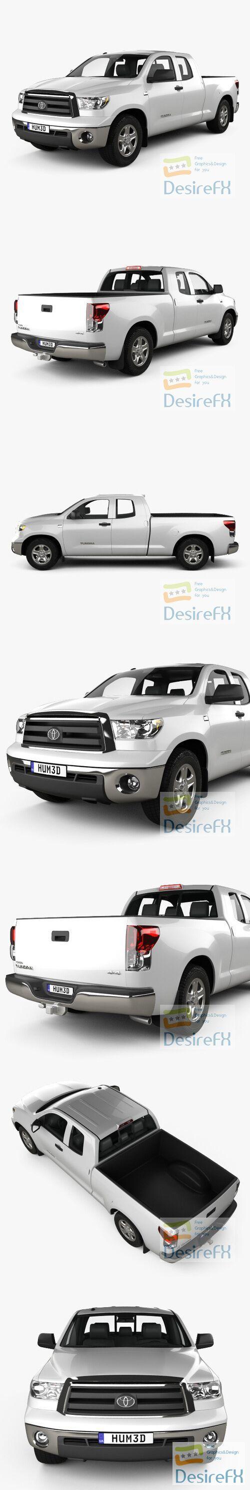 Toyota Tundra Double Cab 2011 3D Model