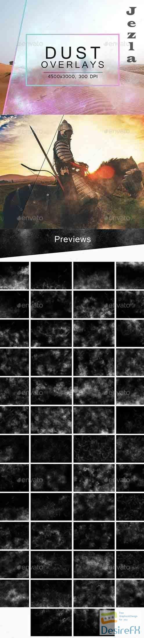 50 Dust Overlays - 27432248