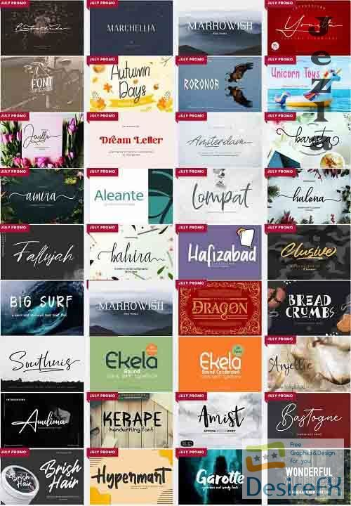 Mix Font Bundle 5