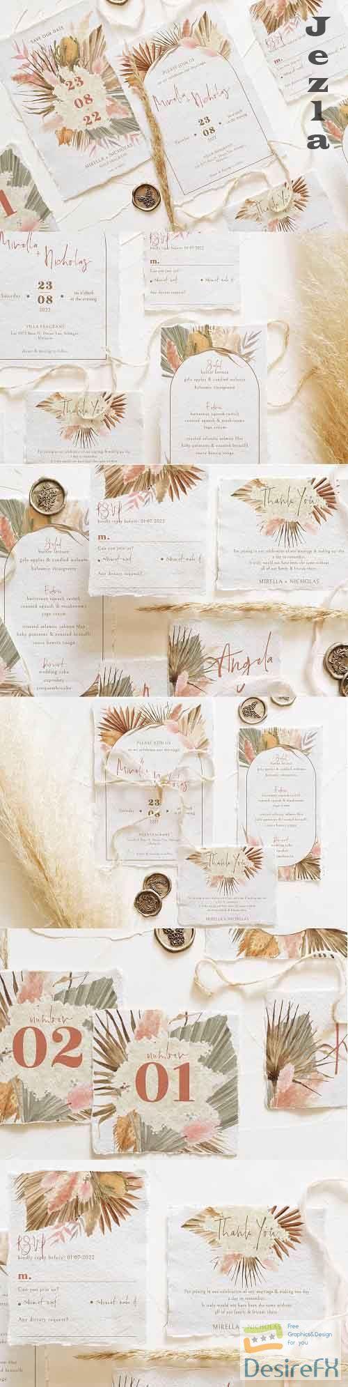 Bohemian Dried Foliage Wedding Suite - 5151657
