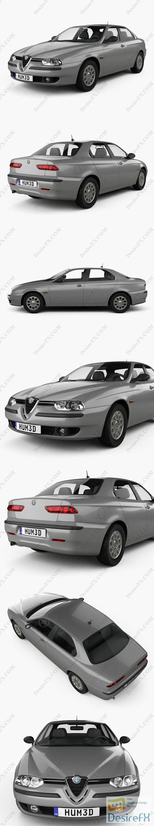 Alfa Romeo 156 1997 3D Model