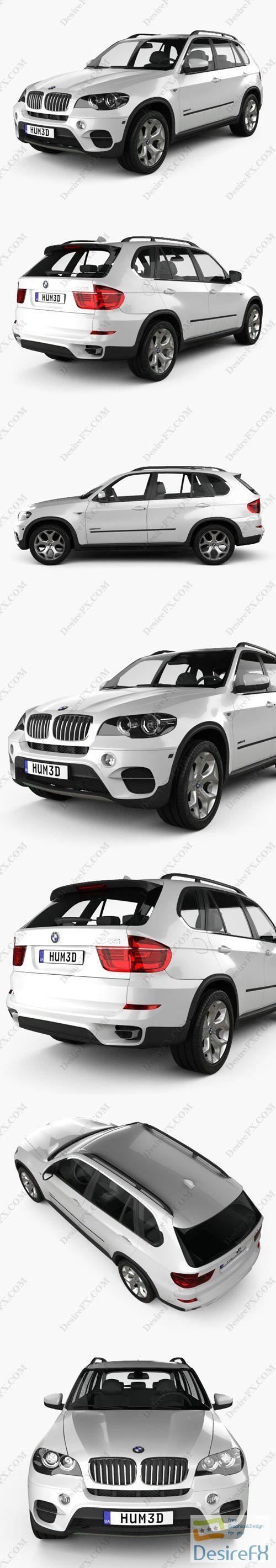 BMW X5 2011 3D Model