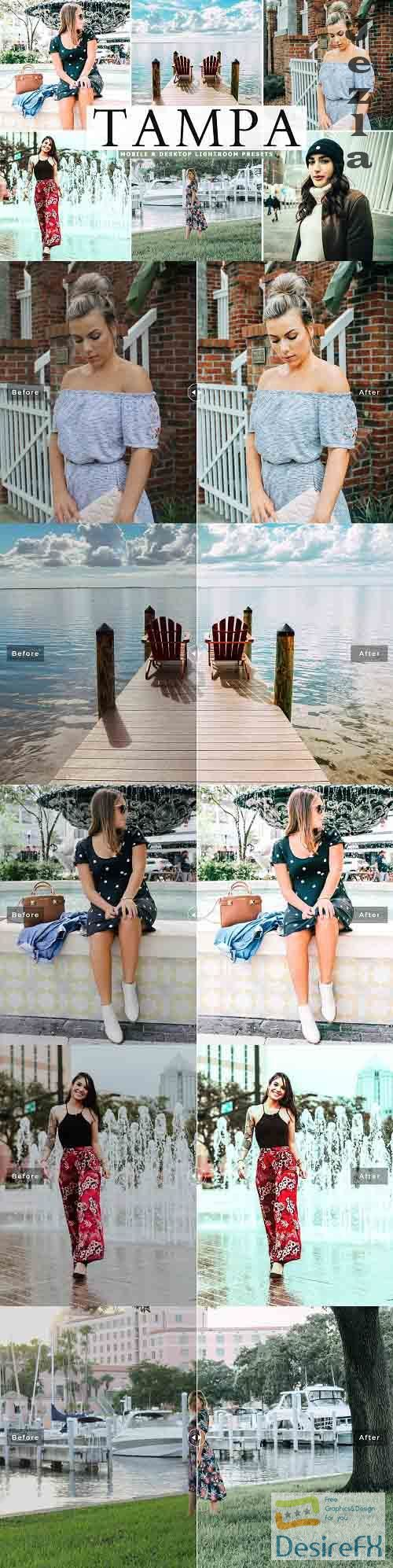 Tampa Lightroom Presets Pack - 5166764 - Mobile & Desktop