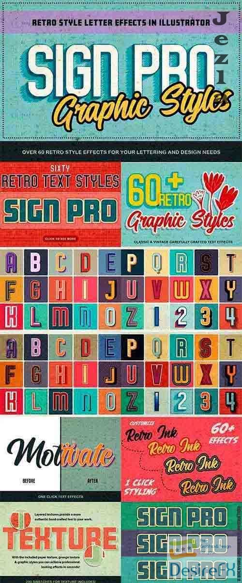 Sign Pro - Retro Vector Text Effects - 3692096