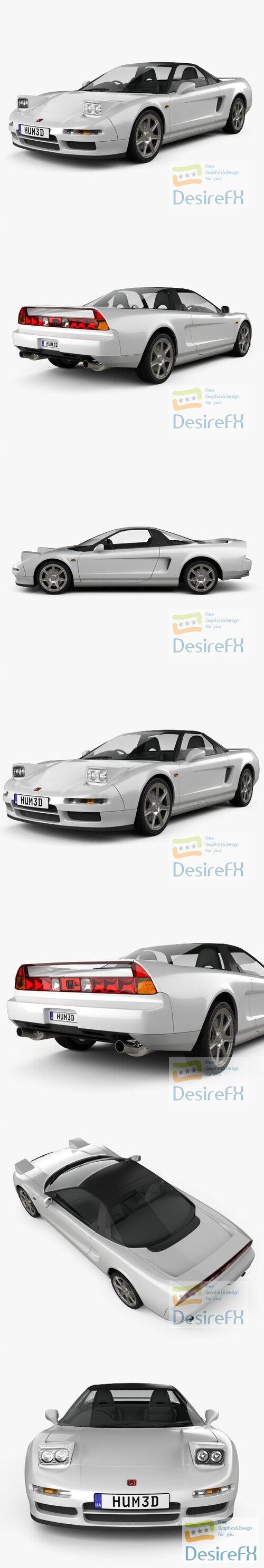 Honda NSX Type-R 1992 3D Model