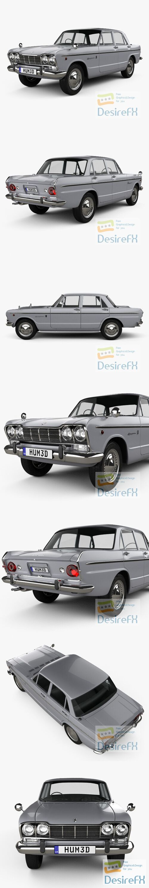 Nissan Skyline GT 1964 3D Model