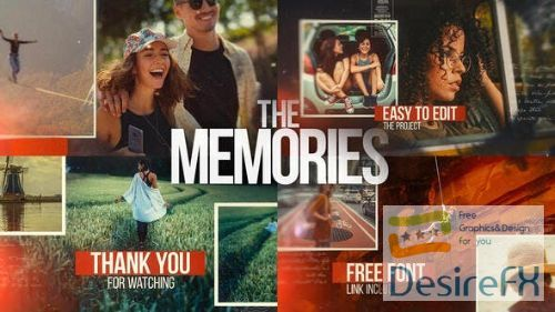 Videohive The Memories - Cinematic Slideshow 26477737