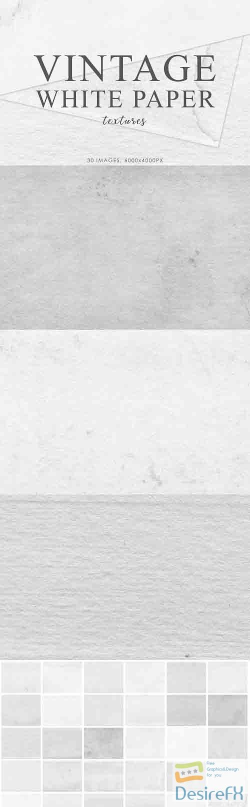 White Vintage Paper Textures 2 - 728417