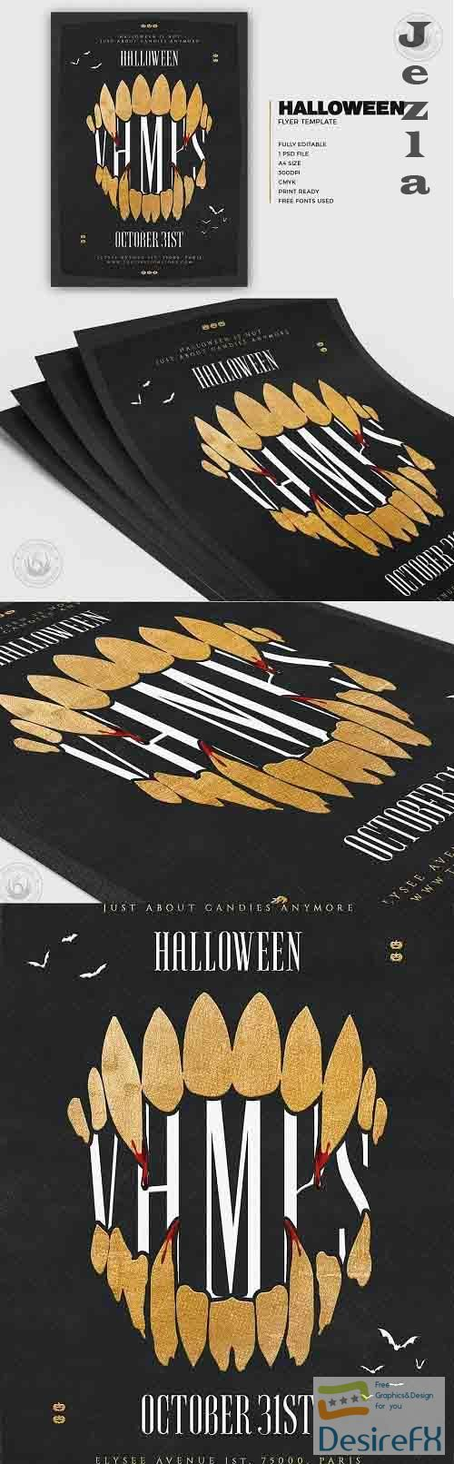 Halloween Flyer Template V28 - 5274284