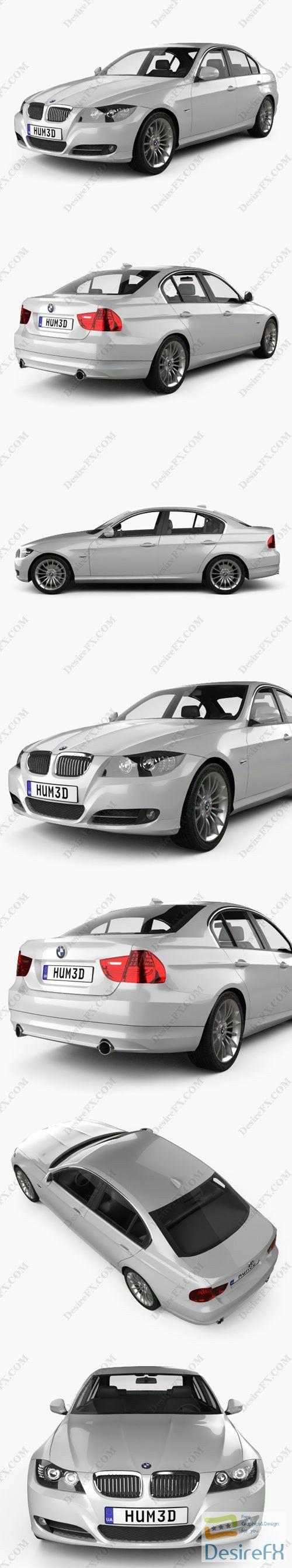 BMW 3 Series Sedan 2011 3D Model