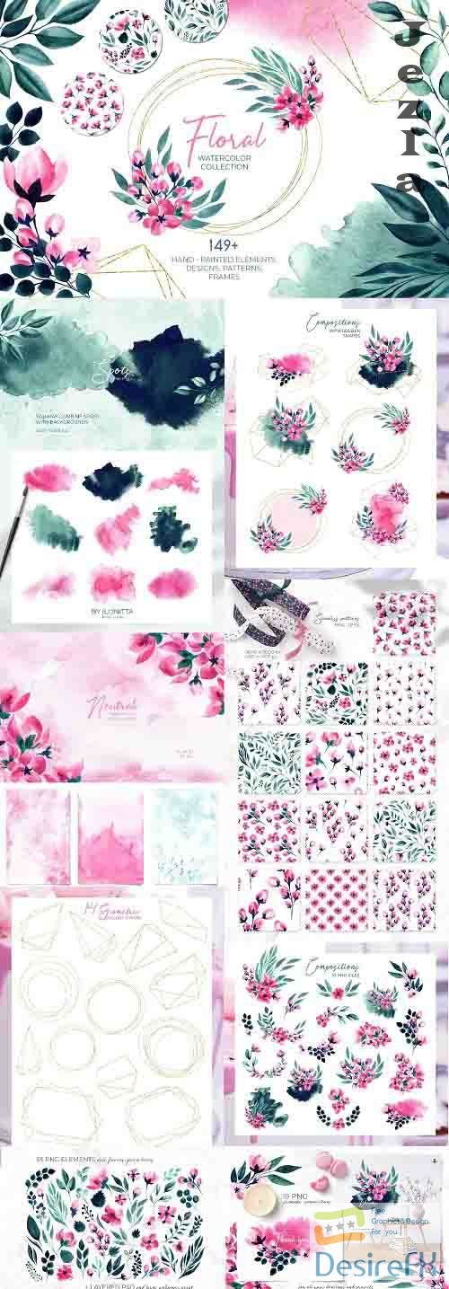 Floral Watercolor Collection - 5234367