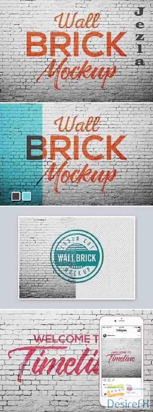 Wall brick Mock Up 1470784