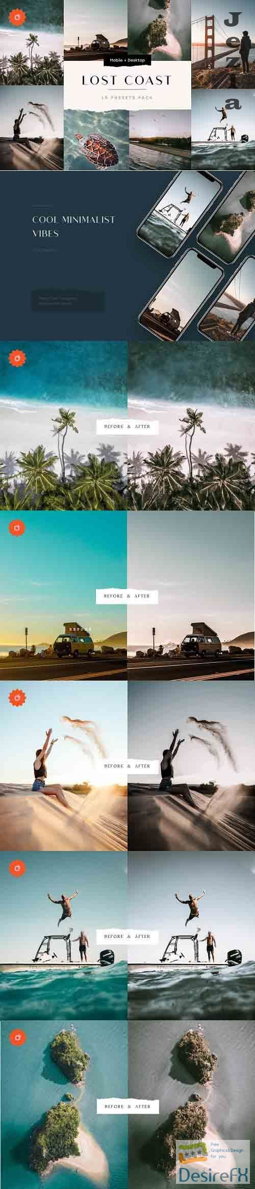 8 Faded Lightroom Presets Bundle 5187672