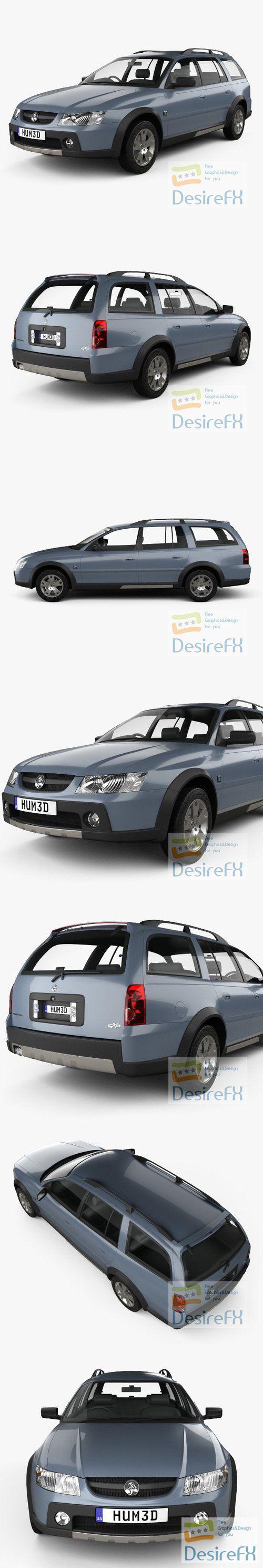 Holden Adventra LX6 2005 3D Model