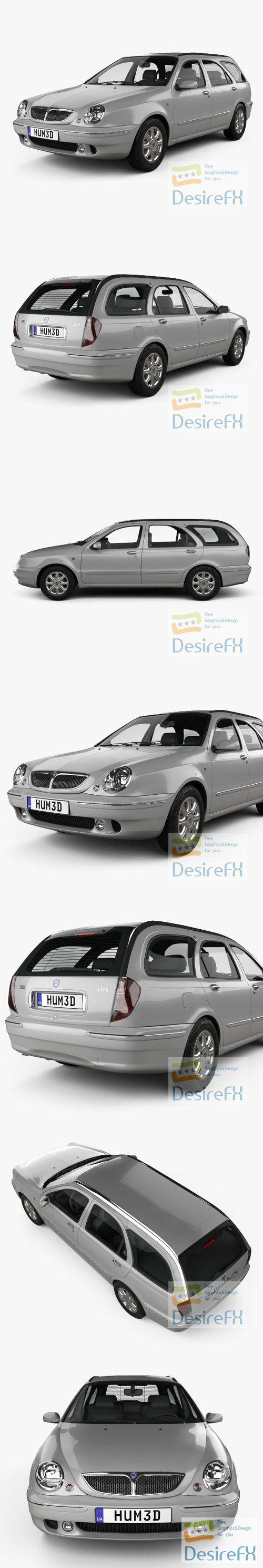 Lancia Lybra Wagon 1999 3D Model