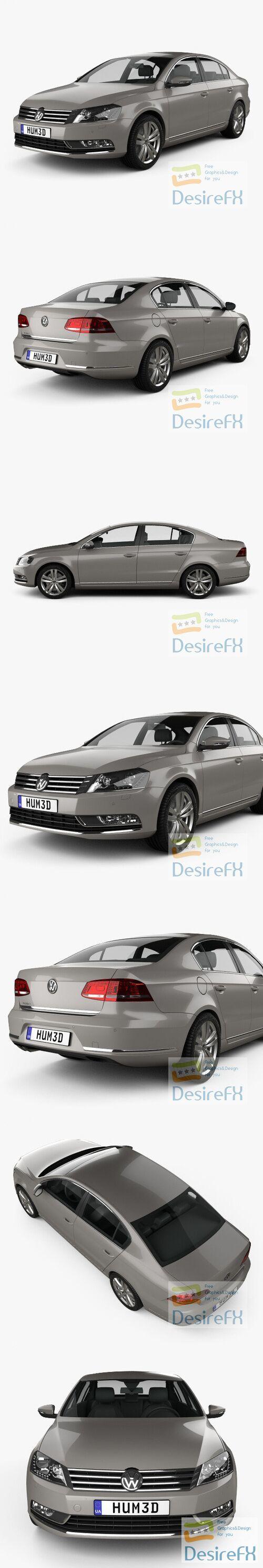 Volkswagen Passat 2011 3D Model