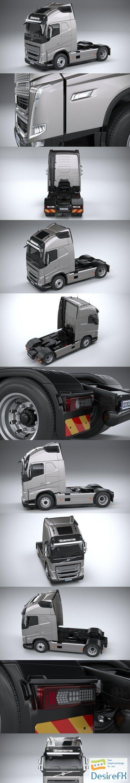 Volvo FH16 2020 3D Model