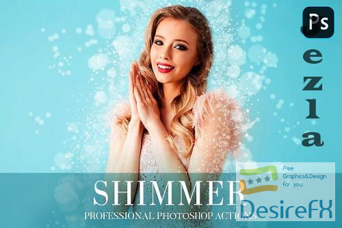 Shimmer Photoshop Action 4870504