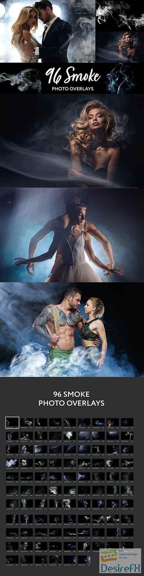 96 Realistic Smoke Photo Overlays - 27028282 - 5224817