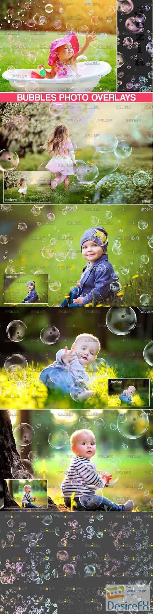 Photoshop overlay Bubble overlays & Soap bubble - 895336