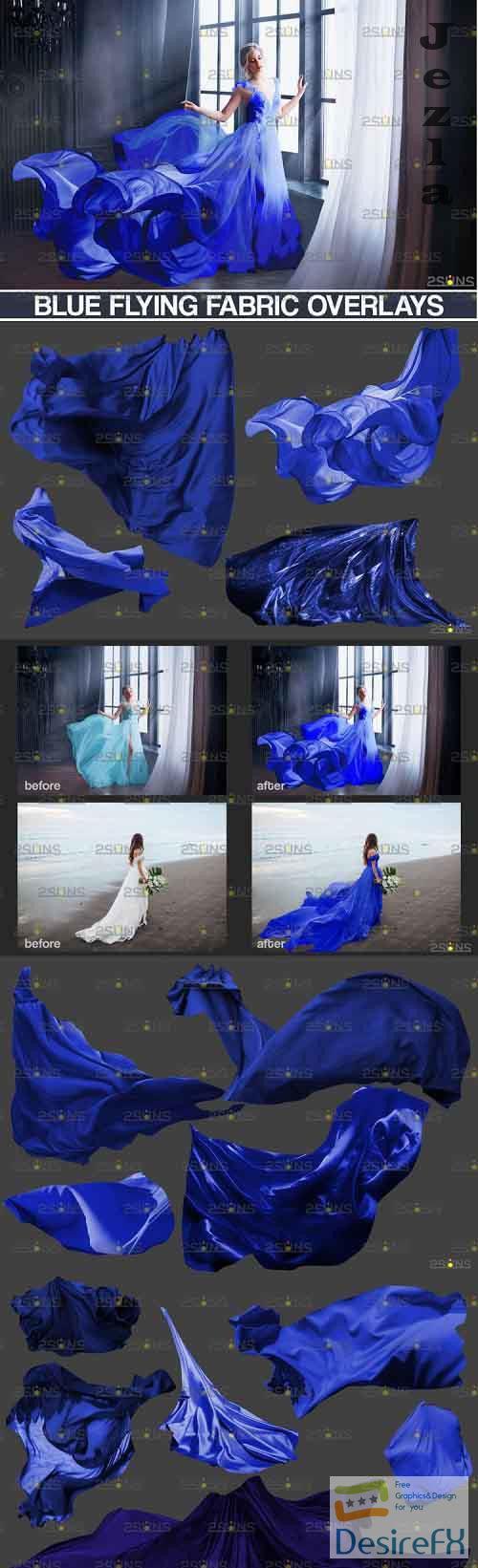 Flying Fabric overlays, Photoshop overlay Flying dress - 898227