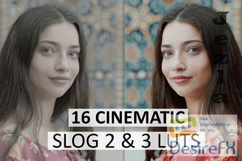 Cinematic Luts (Slog2 & Slog3) 4963148