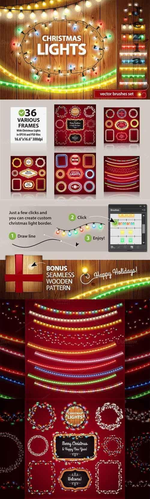 Christmas Lights Decorations Set 111164