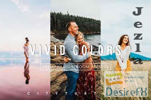 Bright Vivid Color Lightroom Presets - 4912047