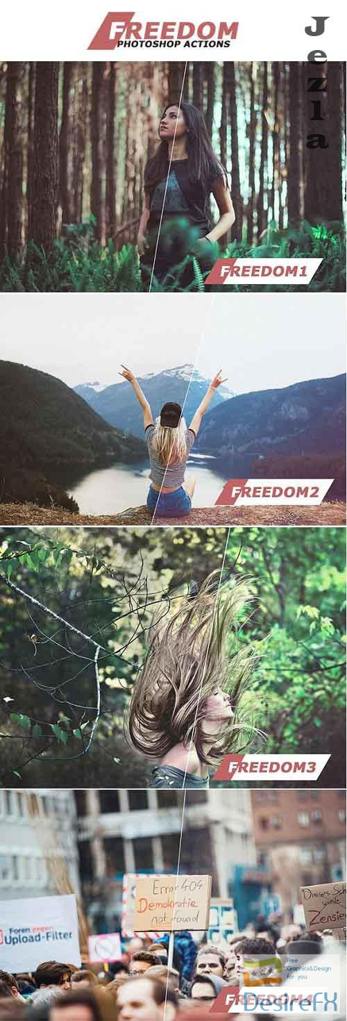 Freedom Photoshop Actions