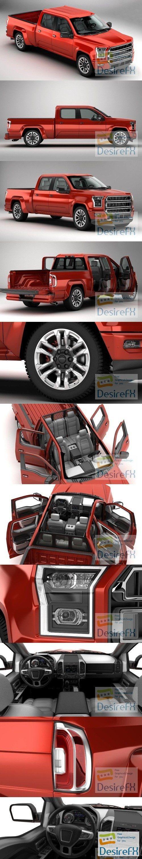 Generic Pickup 3D Model