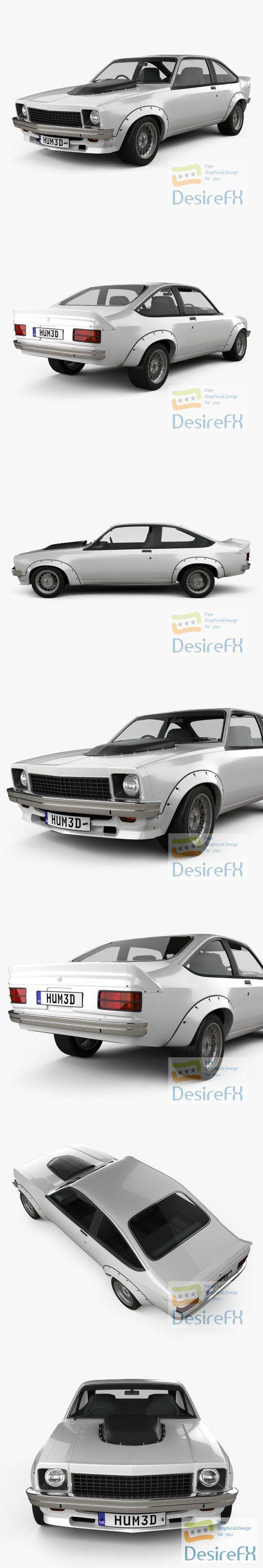 Holden Torana A9X 1976 3D Model