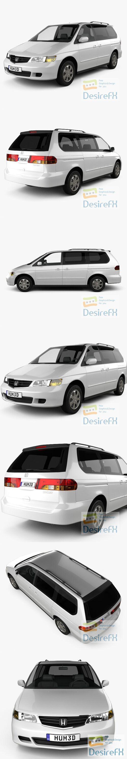 Honda Odyssey US 1999 3D Model
