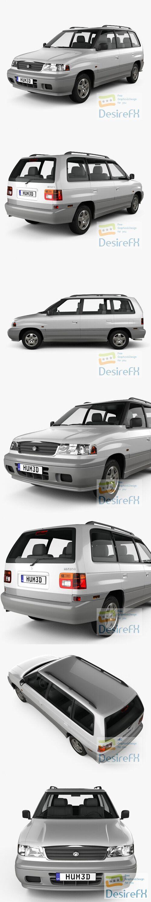 Mazda MPV 1997 3D Model