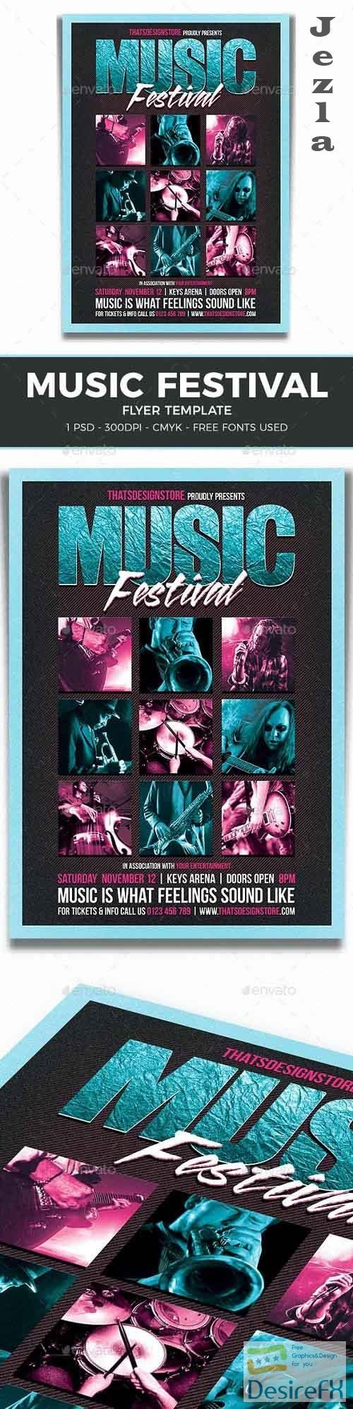 Music Festival Flyer Template V4 - 11324450 - 260221