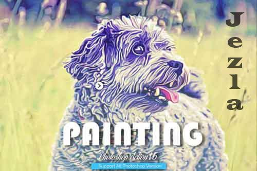 Painting Photoshop Action V6