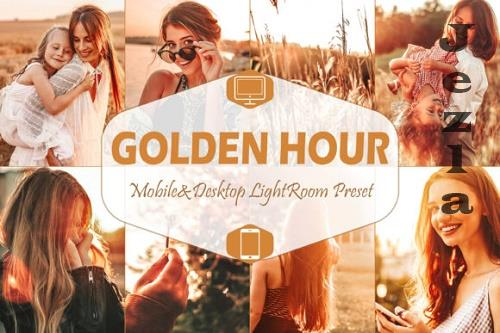 10 Golden Hour Mobile & Desktop Lightroom Presets