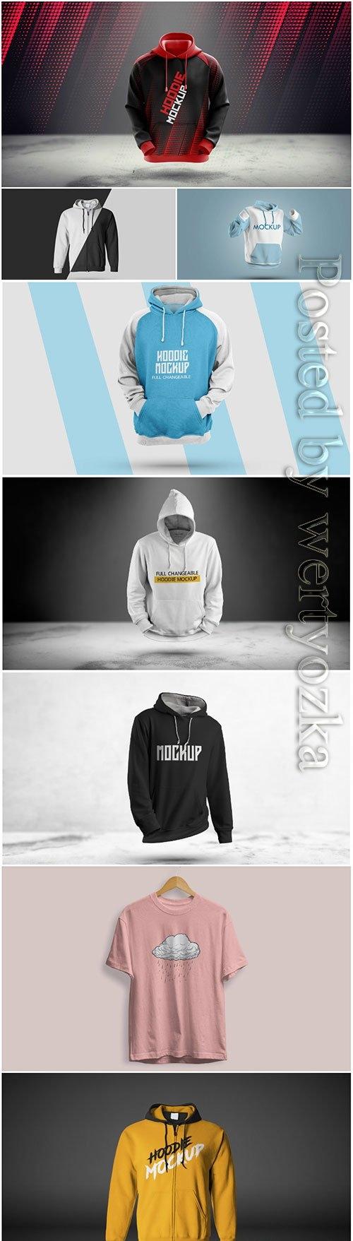 3d hoodie mockup premium psd