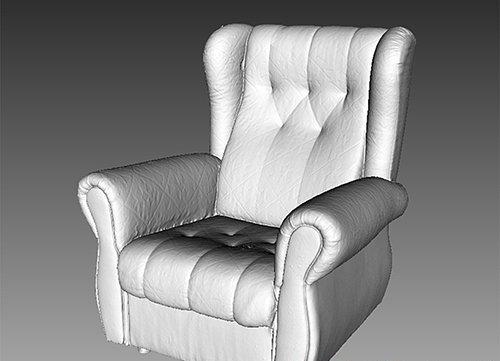 Armchair - 3D Scan