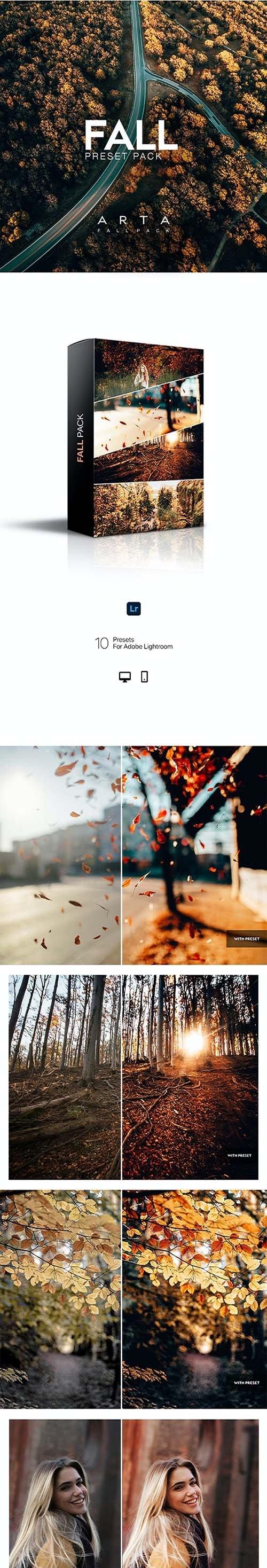 ARTA Fall Pack For Mobile and Desktop Lightroom 28906487