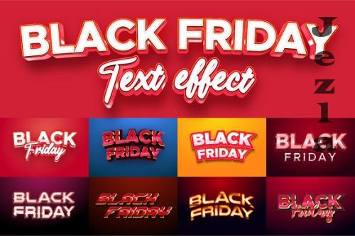 Black Friday Text Effect for Illustrator