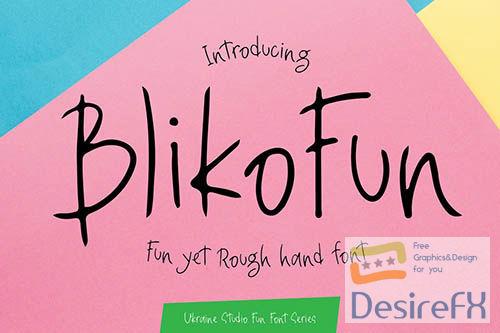 Bliko Fun Font
